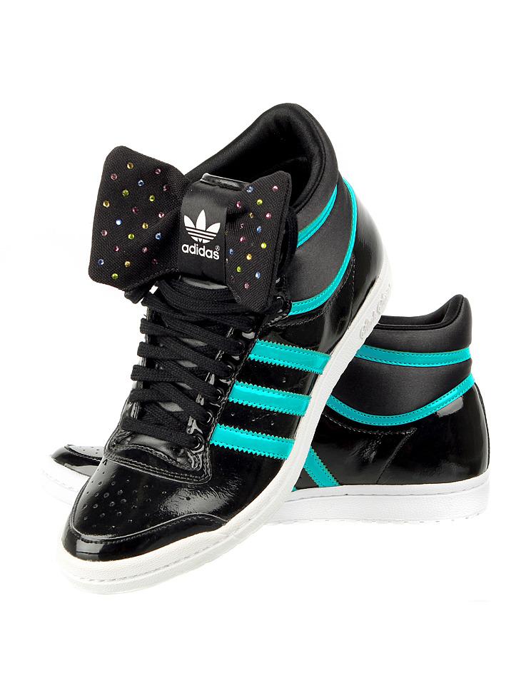 f3f36330967 Dámská kotníková obuv Adidas Top Ten Hi Sleek Bow