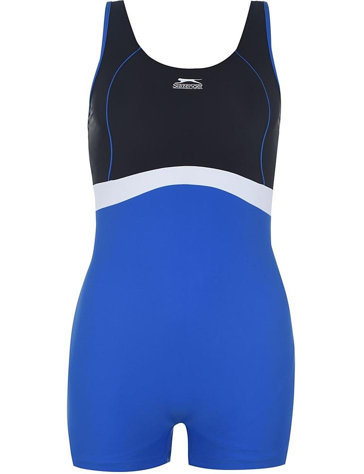 Dámské stylové jednodílné plavky Slazenger vel. 4XL