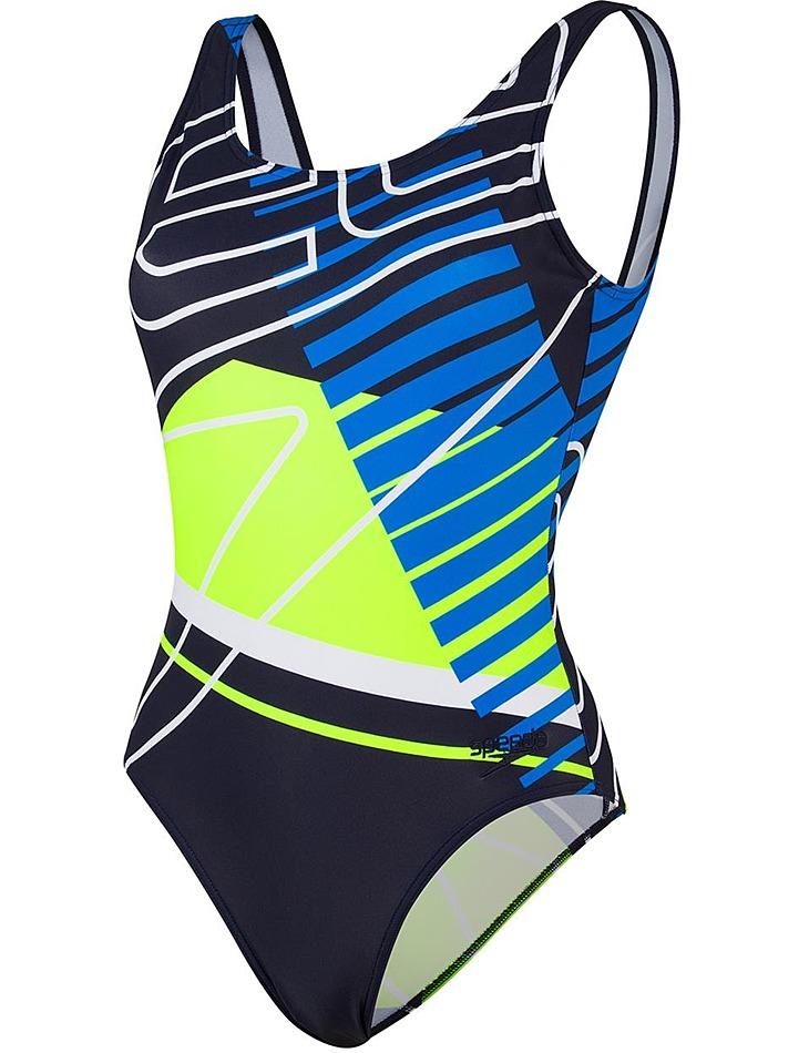 Dámské sportovní  jednodílné plavky Speedo vel. XL