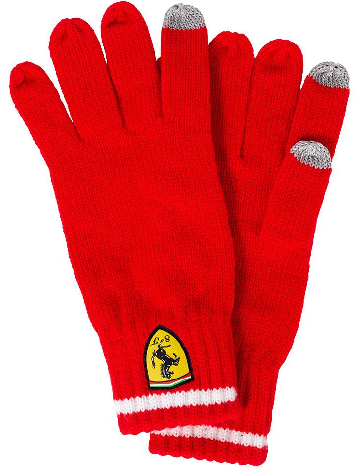 Pletené zimní rukavice Scuderia Ferrari
