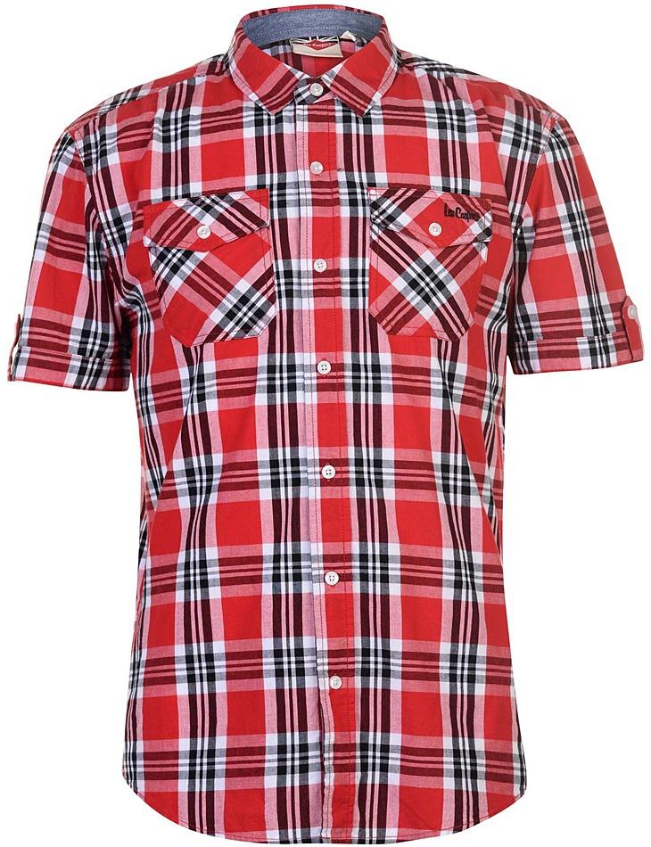 989589eef80 Pánská károvaná košile Lee Cooper