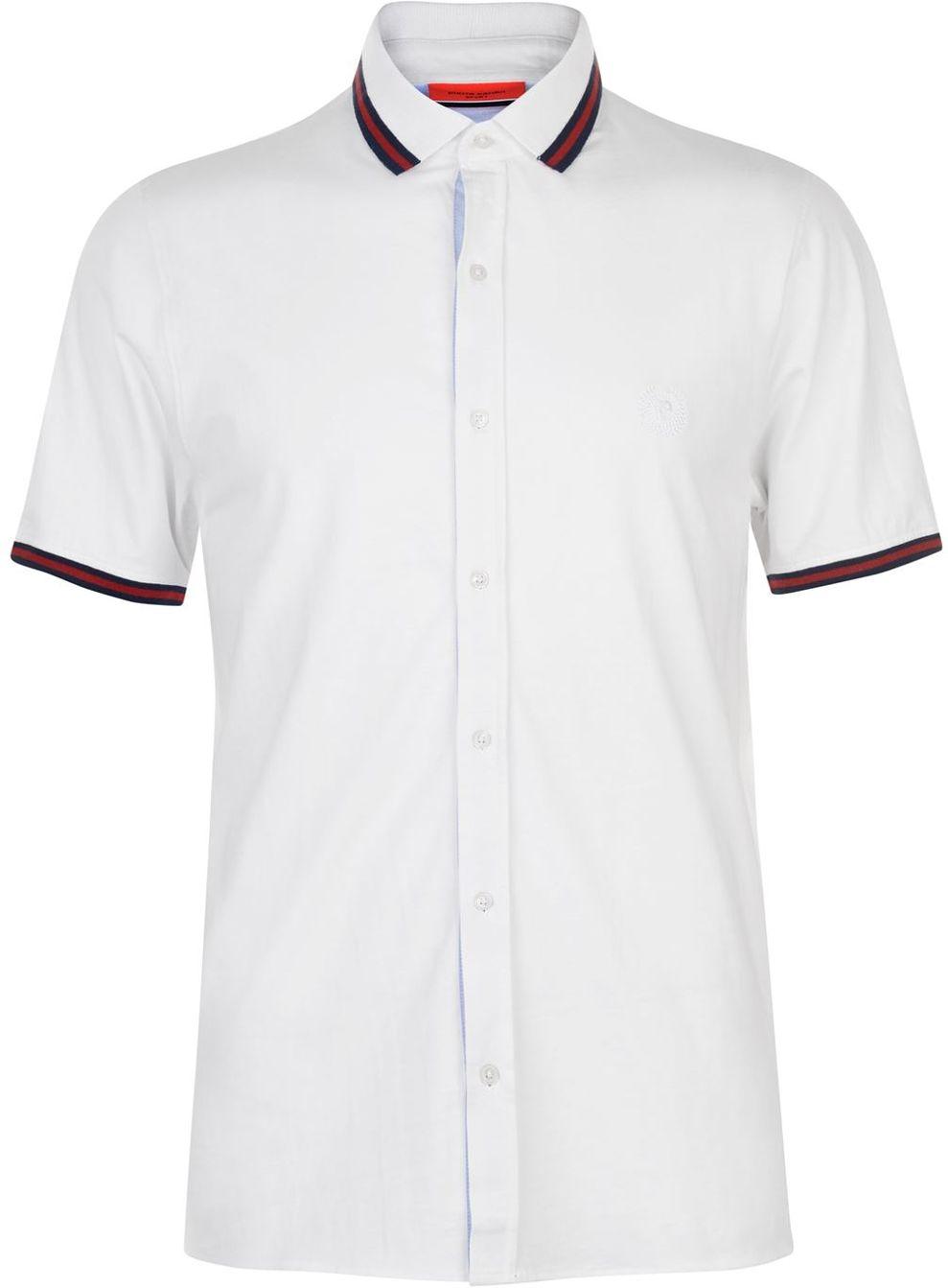 Pánská košile s krátkým rukávem Pierre Cardin vel. L