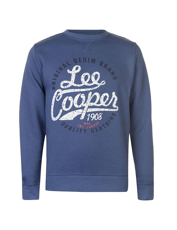 Pánská stylová mikina Lee Cooper  b24590179d