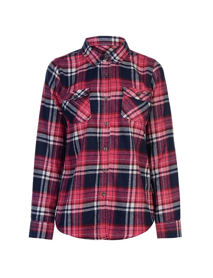 Dámská flanelová košile Lee Cooper  e5bf8f46de
