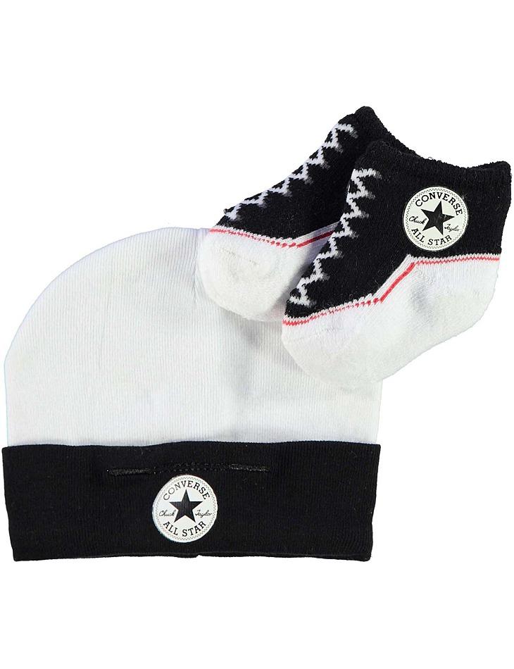 8ec70bca3b Dětský set čepička ponožky Converse