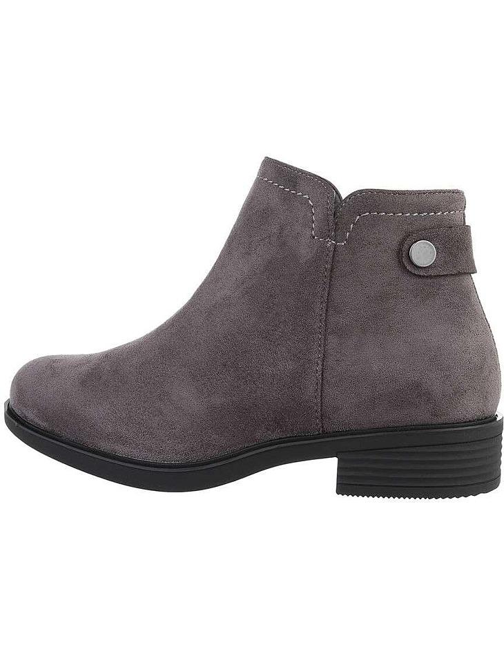 Dámské semišové kotníkové boty vel. 39