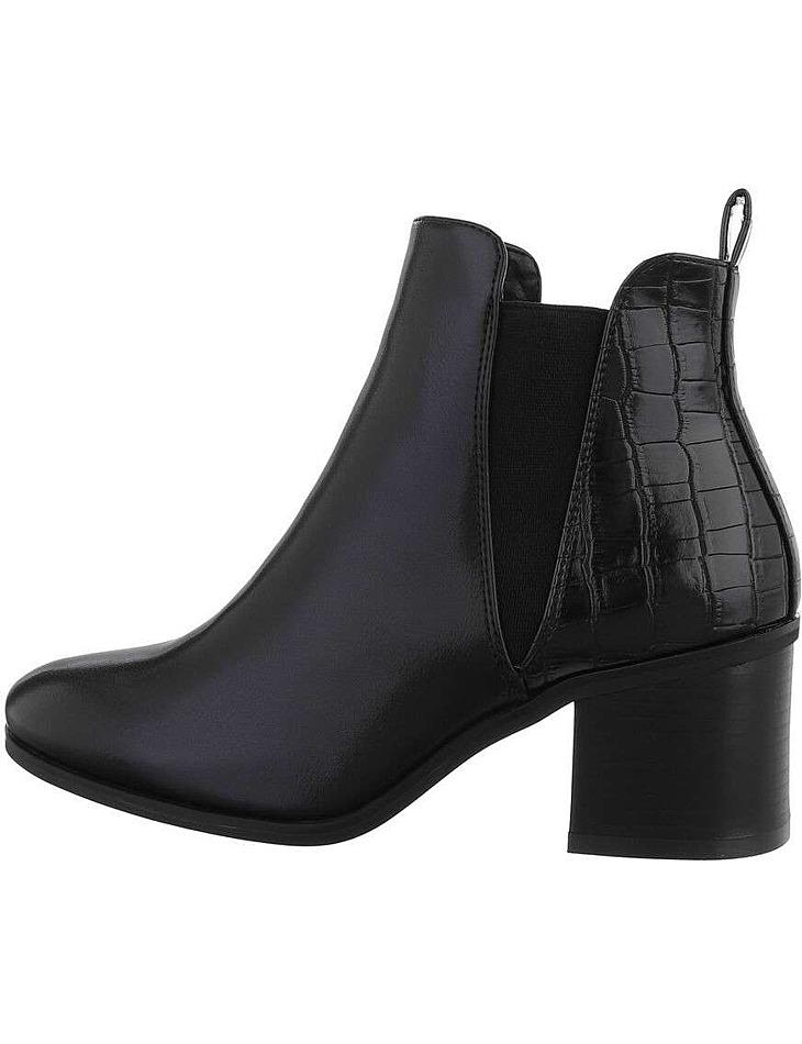 Dámské kotníkové boty na podpatku vel. 39