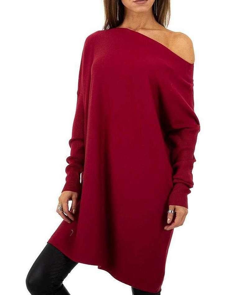 Dámský dlouhý svetr Whoo Fashion
