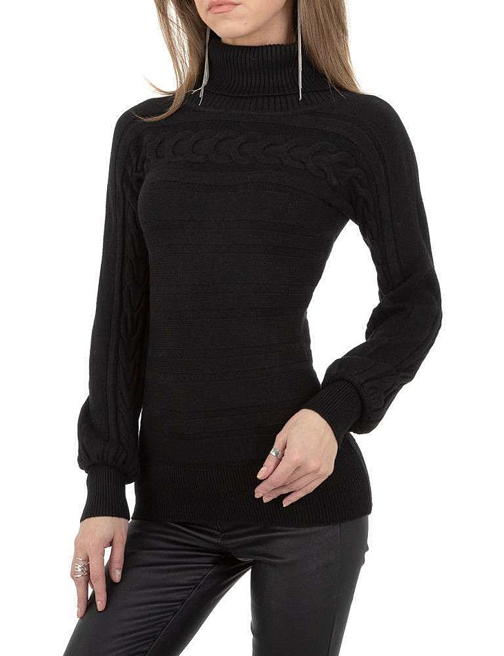 Dámský svetr černý