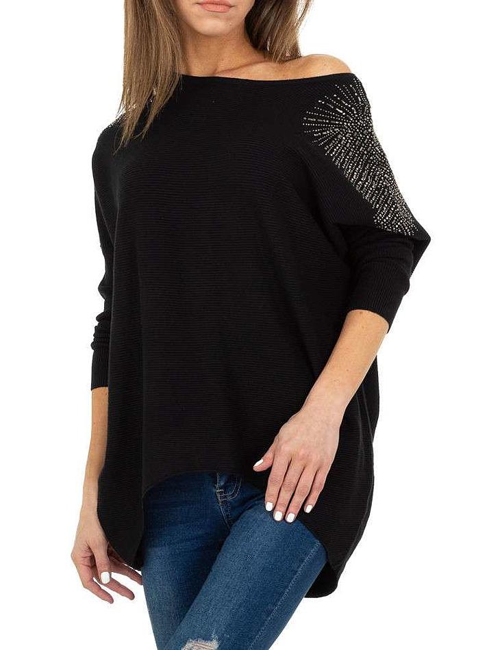 Dámský fashion dlouhý svetr