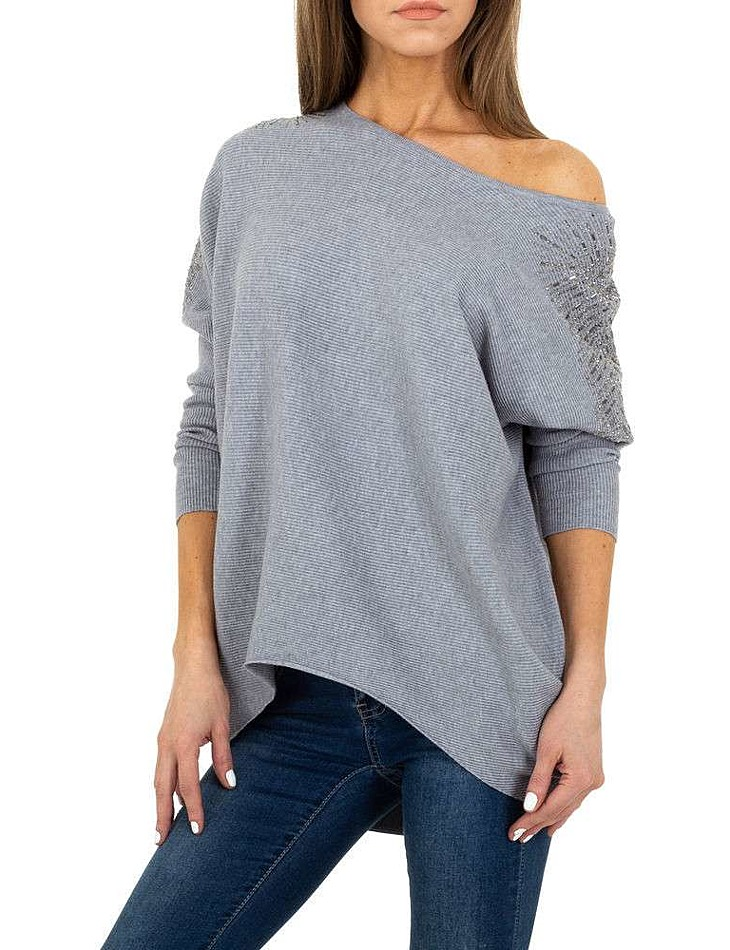 Dámský stylový dlouhý svetr