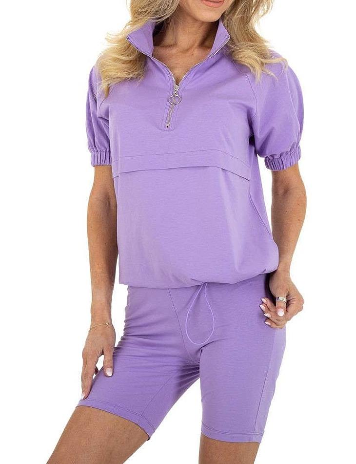 Dámská sportovní souprava vel. 6 Stück in purple. Size: S-M-L