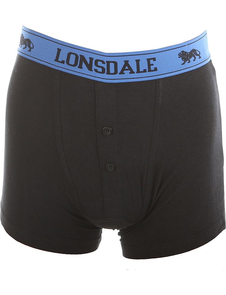 Chlapecké módní boxerky Lonsdale vel. 11 - 12 let, 146 - 152 cm