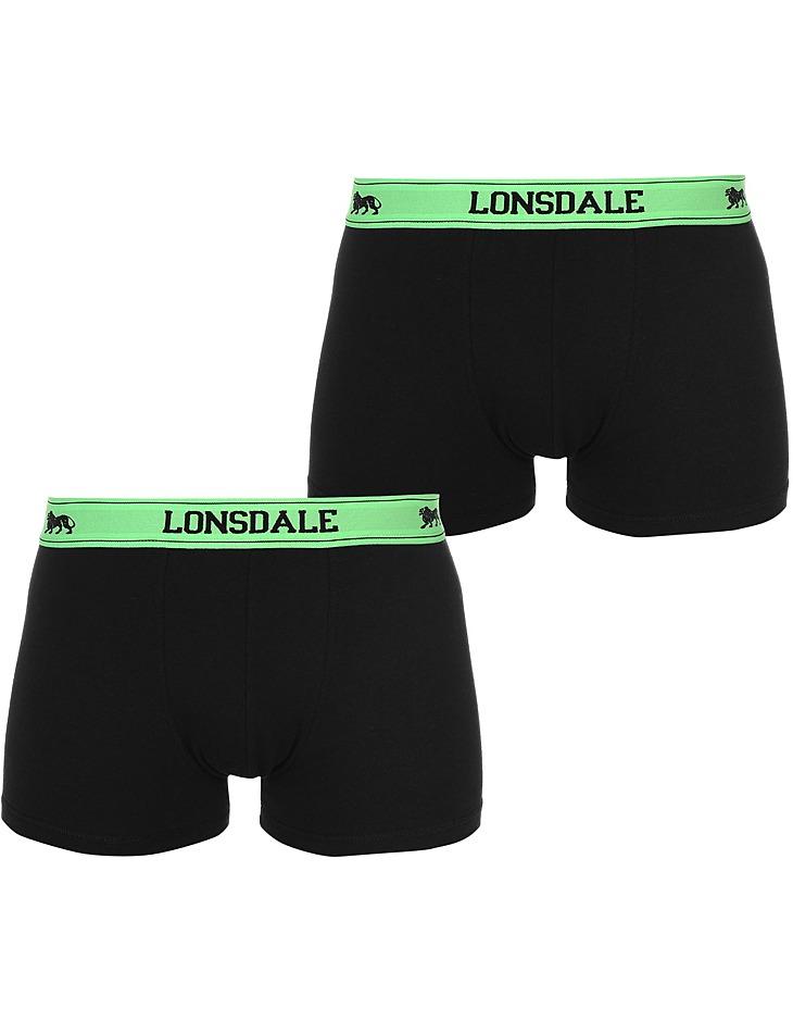 Pánské pohodlné boxerky Lonsdale - 2 ks vel. XS