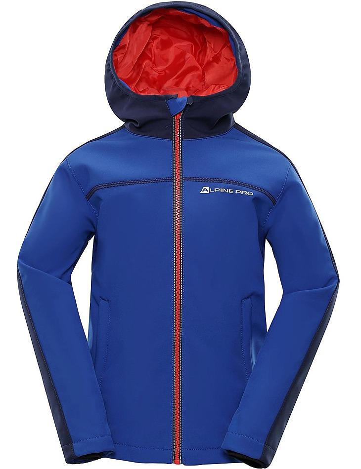 Dětská softshellová bunda Alpine Pro vel. 128-134
