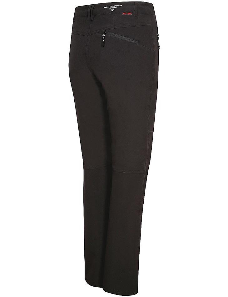 Dámské softshellové kalhoty s membránou Alpine Pro vel. 34
