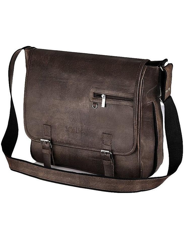 Pánská hnědá taška vel. univerzální