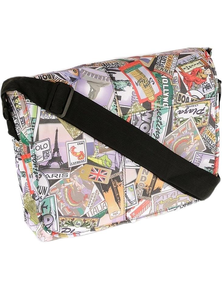 Béžová shopper taška s potiskem tn-3029 vel. univerzální