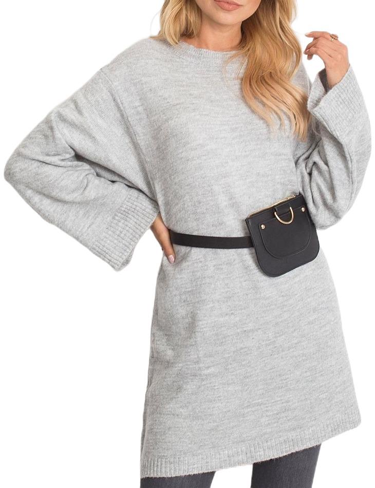 Dámský šedý svetr vel. M/L