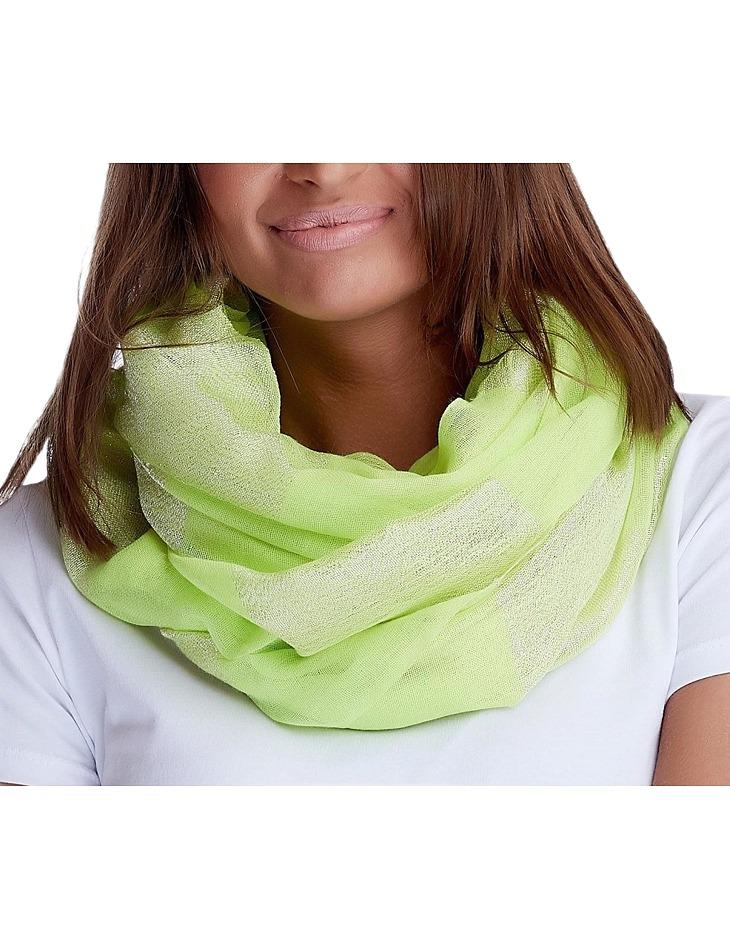 Světle zelený šátek vel. ONE SIZE