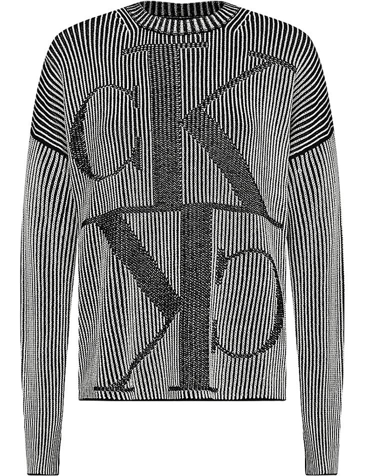 Dámský fashion svetr Calvin Klein vel. XS