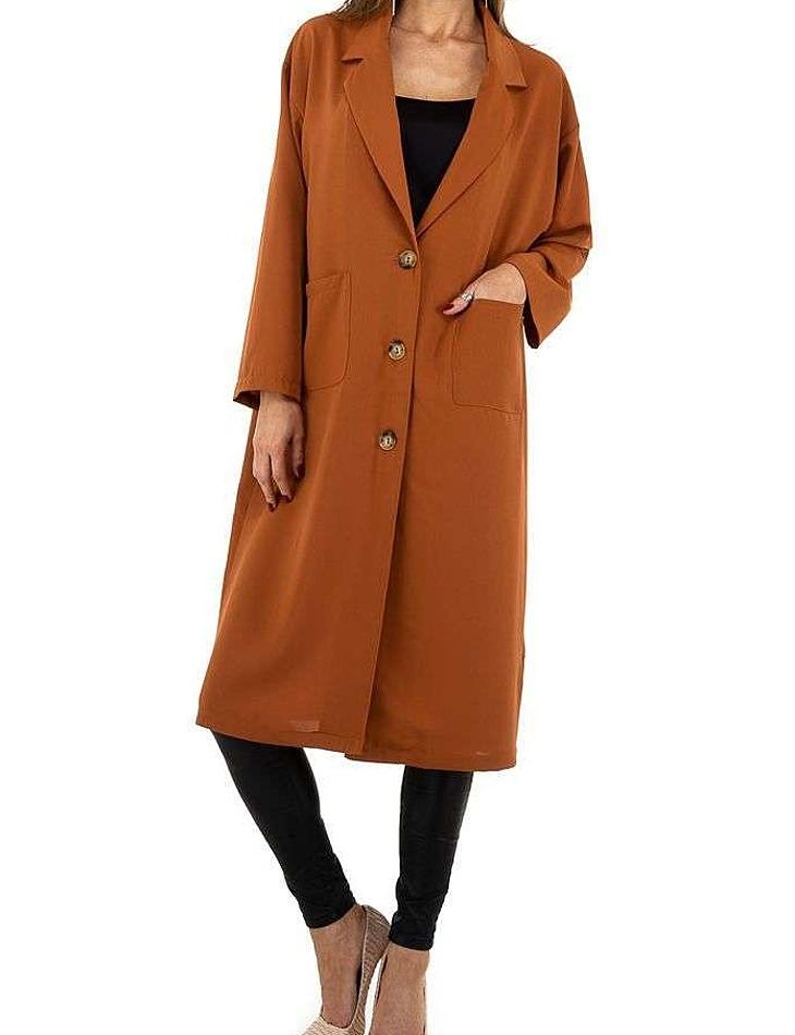 Dámský dlouhý kabátek vel. S/36