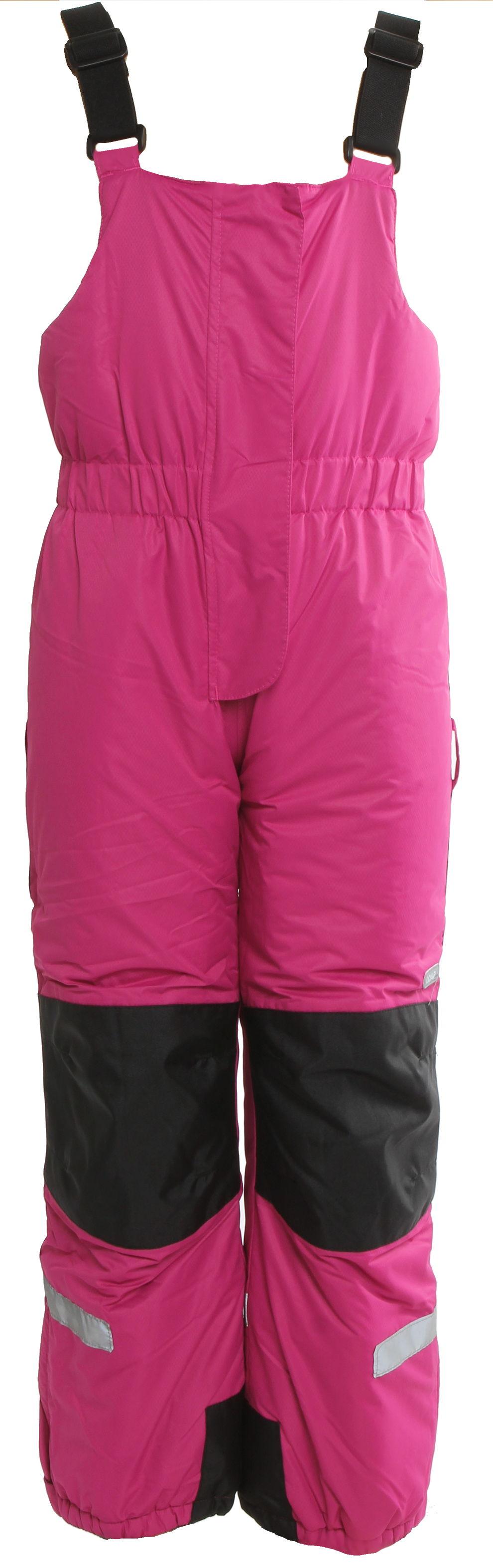 Dívčí lyžařské kalhoty s reflexními prvky Loap vel. 3 - 4 éves, 104 cm