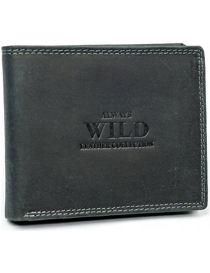 Always wild kožená peněženka vel. ONE SIZE