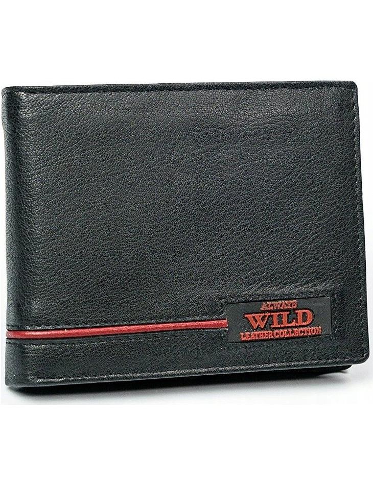Always wild pánská černá peněženka vel. ONE SIZE