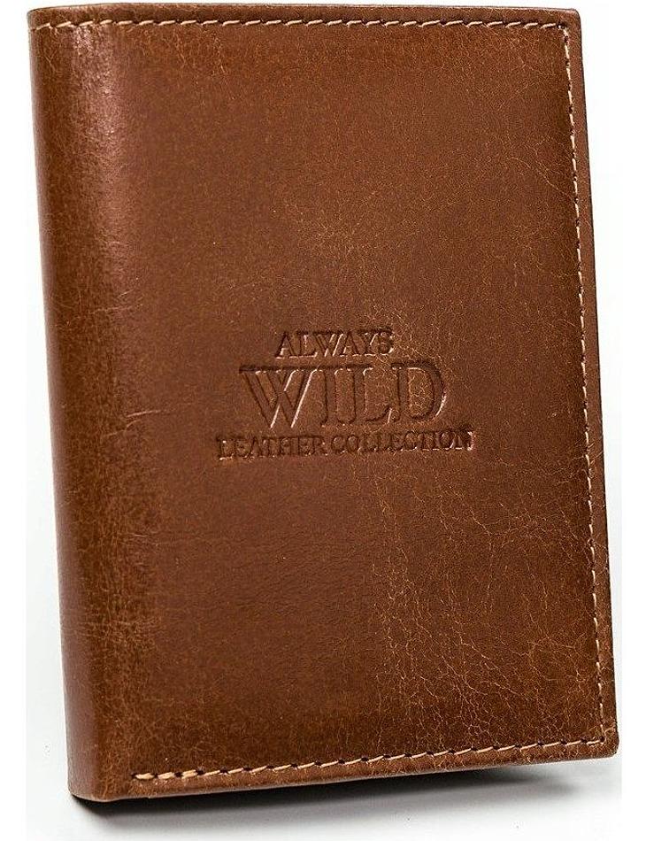 Always wild hnědá peněženka vel. ONE SIZE