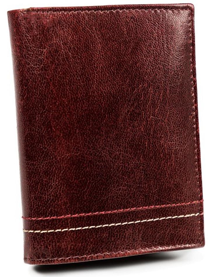 Always wild červená pánská kožená peněženka vel. ONE SIZE