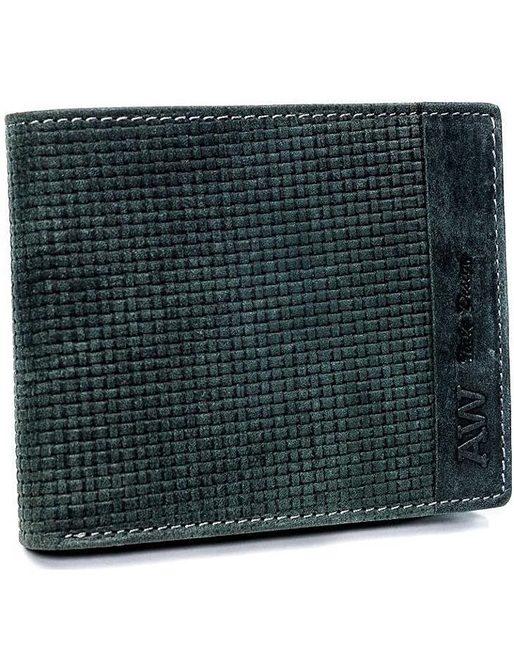 Always wild® černá pánská kožená peněženka vel. ONE SIZE