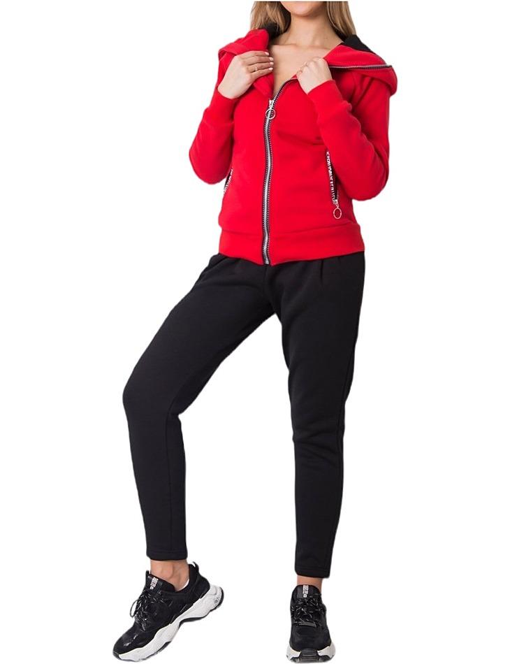 červená dámská tepláková souprava vel. XL