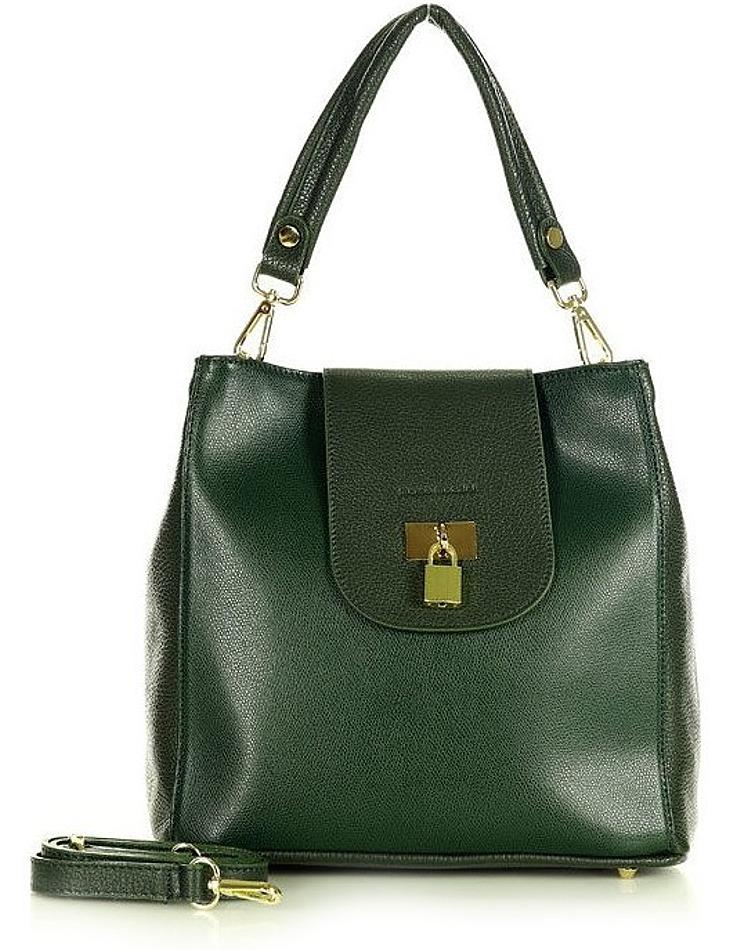 Marco mazzini zelená elegantní kabelka vel. ONE SIZE