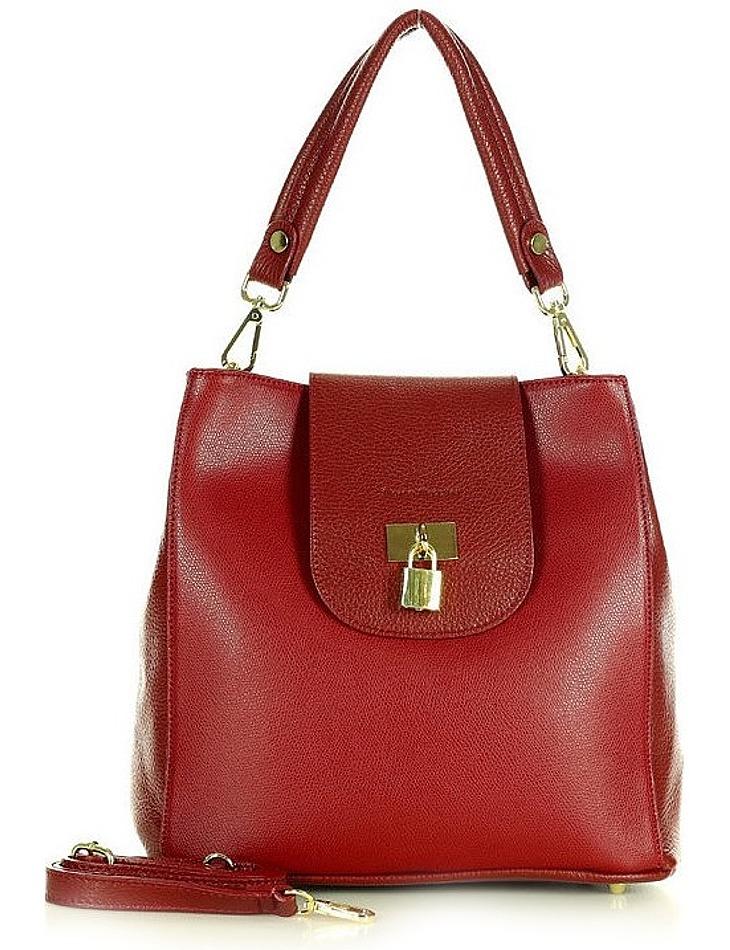 Marco mazzini červená elegantní kabelka vel. ONE SIZE